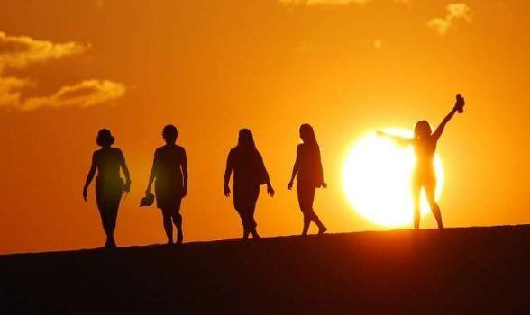 Duna por do sol em Jericoacoara - O fim de tarde encantado
